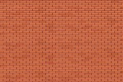 Brick wall - vector background. With colored elements Stock Photo