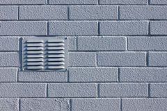 Brick wall with ventilation Stock Photo