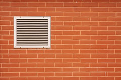 Brick wall and Ventilator Royalty Free Stock Photos