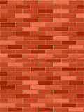Brick wall vertical Stock Photography