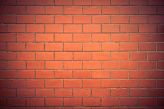 Brick wall of vintage Stock Photography