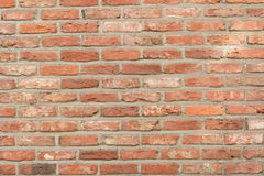 Brick wall vintage aspect. Brick wall background vintage aspect stock photos