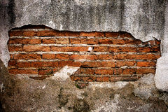 Brick wall  vintage background. Background of brick wall with vintage look and Ancient grunge wall with bricks Stock Image