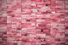 Brick wall - Vintage coloe ton Stock Images