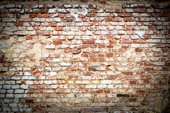 Brick wall with vintage look Stock Photography