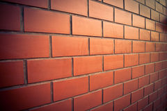 Brick wall of vintage stlye Stock Photo