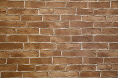 Brick wall. Paper in a shop Royalty Free Stock Image