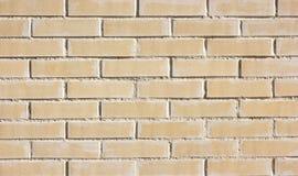 Brick wall of white blocks, classic background Stock Photos