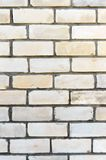 Brick wall. White brick background for your projects. Close up.  stock photo