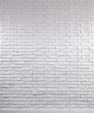Brick Wall. A white brick wall with photographic light stock photos