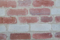 Brick wall. Of white and pink bricks stock images