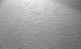 Brick wall White Rustic Texture. Retro used Vintage Structure. Grungy Shabby white Background. Design Element. Abstract Light Whit stock photography