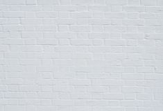 Brick wall with white whitewashing close up Royalty Free Stock Photos