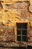 Brick wall and window Royalty Free Stock Images