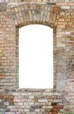 Brick wall and window royalty free stock photo
