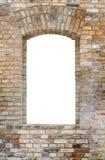 Brick wall and window Royalty Free Stock Photo