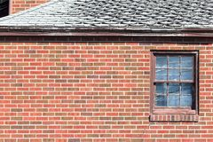 Brick Wall Window Royalty Free Stock Photos