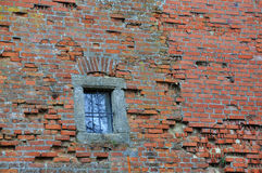 Brick Wall with Window Stock Photos