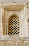 Brick Wall with window in Old city, Icheri Sheher. Baku Stock Images