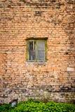 Brick wall and window Royalty Free Stock Image