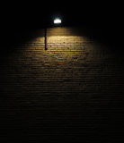 Brick Wall With Light Stock Image