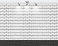 Brick Wall for Your Text and Images, Vector Illustration Stock Image