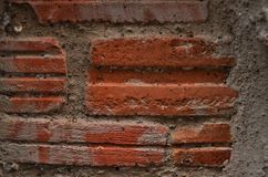 Brick. Wallpapers background block Stock Photo
