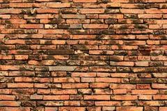 Brick Walls. Old brick wall, Ayutthaya, Thailand Royalty Free Stock Photos