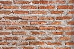 Brick walls. Orange brick walls with sunlight Royalty Free Stock Photo