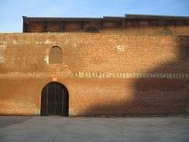 Brick walls. On sunny day stock photo