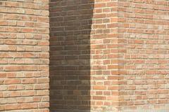 Brick walls. Three brick walls as background Stock Image