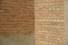 Brick walls. Two brick walls and a corner as background Royalty Free Stock Image