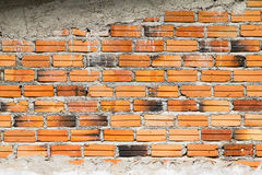 Brick. Walls were brought build home Royalty Free Stock Image