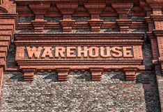 Brick Warehouse Royalty Free Stock Photo