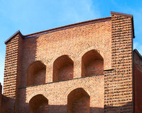 Brick watchtower Royalty Free Stock Photography