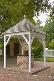 Brick water well Royalty Free Stock Image