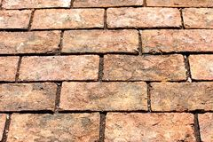 Brick way Royalty Free Stock Photos