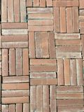 The brick way background stock photos