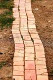Brick way Royalty Free Stock Image