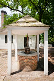 Brick Well for Water Stock Photo