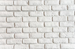 Brick white wall Royalty Free Stock Image