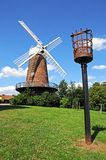 Brick windmill, Nottingham. Stock Photo