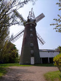 Brick windmill - Stock Image Stock Images