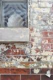 Brick Window Stock Image