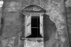 Brick and window Royalty Free Stock Photo