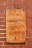 Brick and wood background Stock Photos