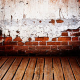 Brick and wood Royalty Free Stock Photography
