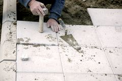 Brick work Royalty Free Stock Photography
