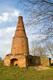 The brick-yard. To bake very old to burning bricksto bake very old to burning bricks Royalty Free Stock Photo