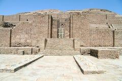 Brick ziggurat royalty free stock photography
